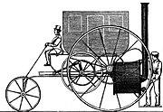 Automobile a vapore dimostrata a Londra nel 1803