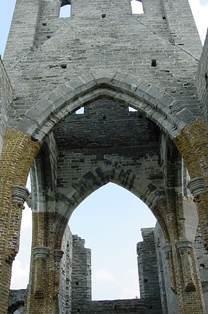 English: The Unfinished Church in St. George's...