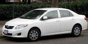 2009 Toyota Corolla photographed in Washington...