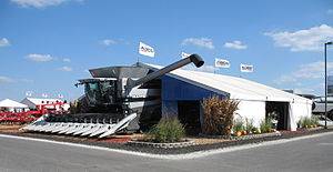 AGCO Gleaner combine harvester, Farm Progress ...