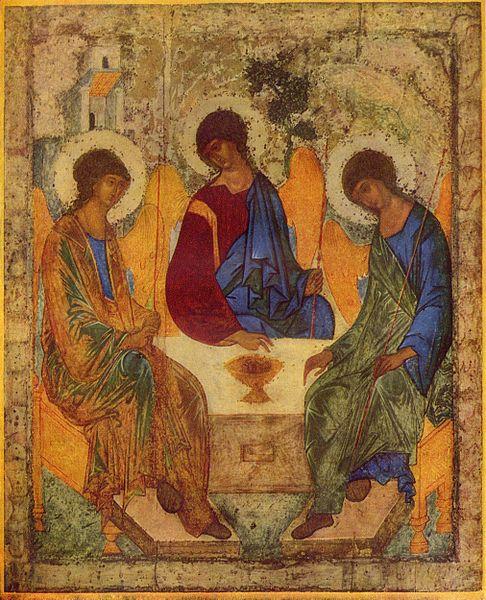 Trójca Święta, Andriej Rublov