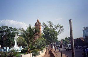 English: Bamako Cathedral, Mali