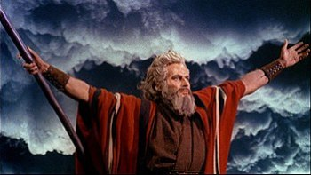 Cropped screenshot of Charlton Heston from the...