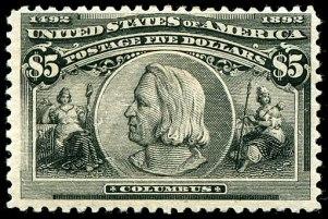 Columbus 1892 Issue-$5