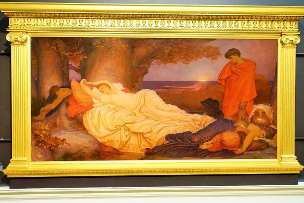 """Cymon and Iphigenia"" by Frederic Leighton"
