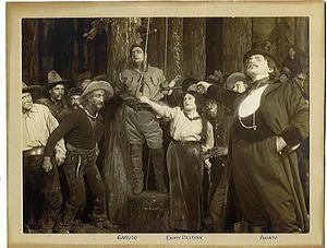 English: La fanciulla del West (1910), opera b...