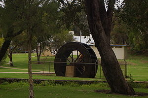 Water Wheel at Gingin