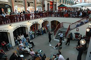 Londres - Covent Garden - espectacle