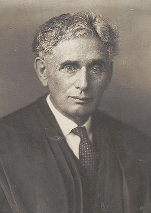 Louis Brandeis Associate Justice c1916