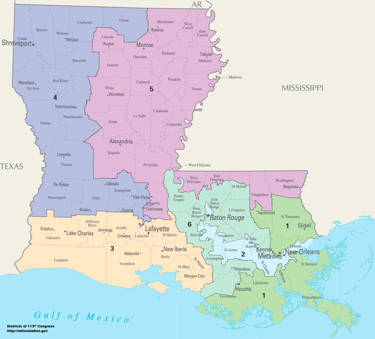 United States congressional delegations from Louisiana   Wikipedia