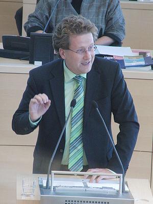 Deutsch: Martin Habersaat 2010 bei einer Debat...