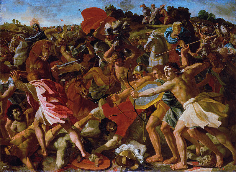 File:Poussin Nicolas - The Victory of Joshua over the Amalekites copy.jpg