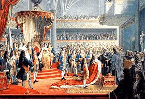 Krönung von Kurfürst Friedrich III. als König ...