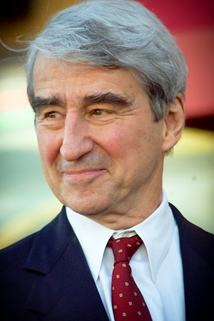 English: Sam Waterston at a ceremony in Januar...