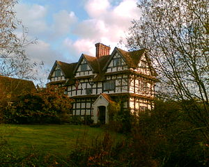 Timber framed manor house by Dominic Cropper