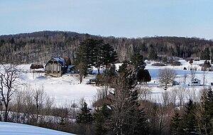 Rural scene in Val-des-Monts, Outaouais, Quebe...