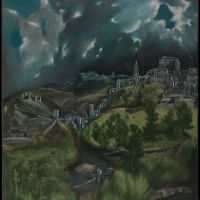 """View of Toledo"" by El Greco"