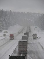 Image result for rail and I-84 closure in columbia gorge