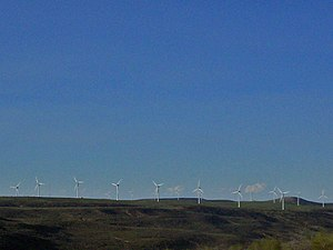 English: Wyoming Wind Energy Center in Uinta C...