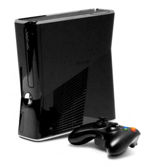 English: Xbox 360 250 GB as shown at the 2010 ...