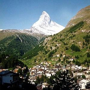 Dieter Ademes - The Matterhorn, a classic peak