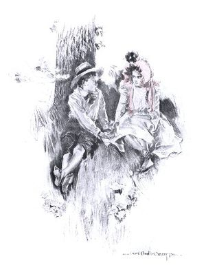 English: Illustration from An Old Sweetheart o...