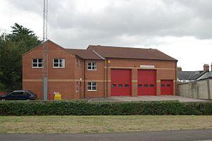 Chard fire station, Avishayes Road, Chard, Som...