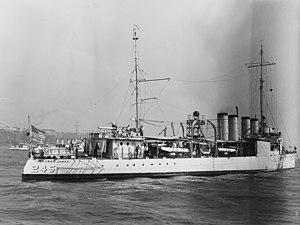 USS Reuben James (DD-245)