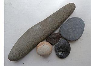 English: Five Pebbles