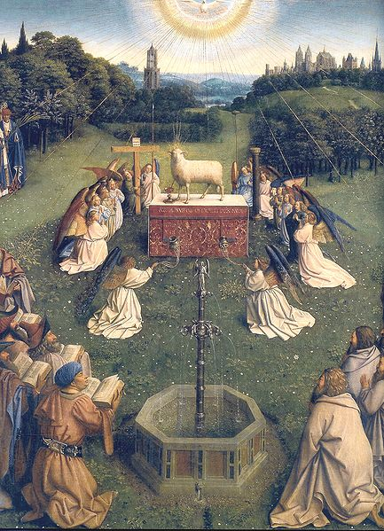 File:Ghent Altarpiece D - Adoration of the Lamb 2.jpg