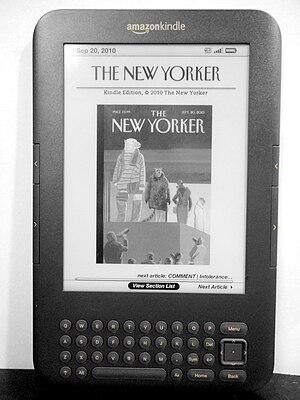 English: Third generation Amazon Kindle