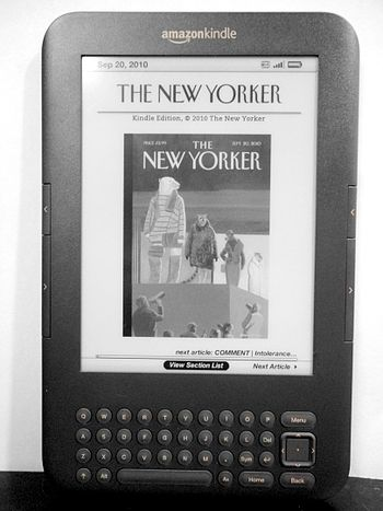 English: Third generation Amazon Kindle