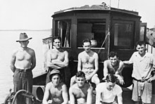 Part of the crew of Operation Jaywick