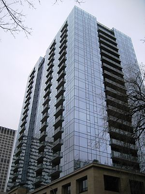 Ladd Tower in Portland, Oregon, USA