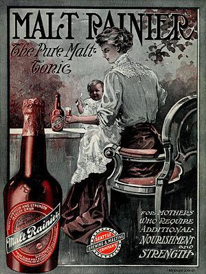Malt Rainier ad