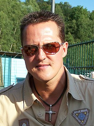 Michael Schumacher, German racing driver
