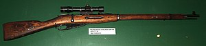 English: Soviet Mosin-Nagant m/91-30 sniper ri...