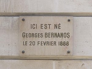 English: Building where Georges Bernanos was b...