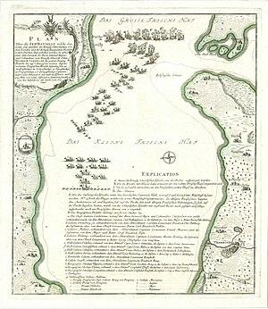 Seeschlacht im Stettiner Haff 1759 / Sea Battl...