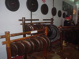 Sets of Tây Nguyên gongs, Vietnam