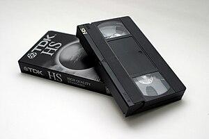 VHS casette