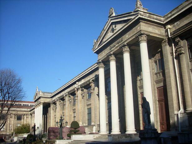 İstanbul Arkeoloji Müzeleri (ana bina, Arkeoloji Müzesi) - Mart 2013
