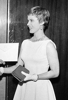 Bibi Andersson, 1957.