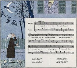 """""""Au Clair de la Lune"""", traditional F..."""