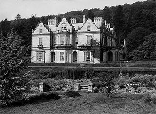 Baskerville Hall, Clyro Court, Hay-on-Wye.