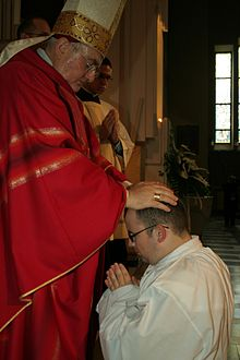 Diacre Catholicisme Wikipdia