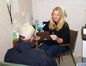 Chalmette, LA, December 16, 2005 - A patient r...