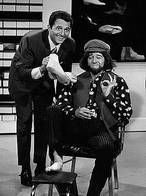 Publicity photo of comedian George Carlin and ...