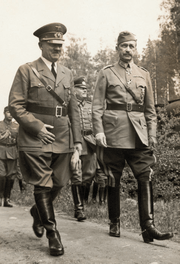 Hitler and Carl Gustaf Emil Mannerheim