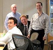 Bill Gross, on right